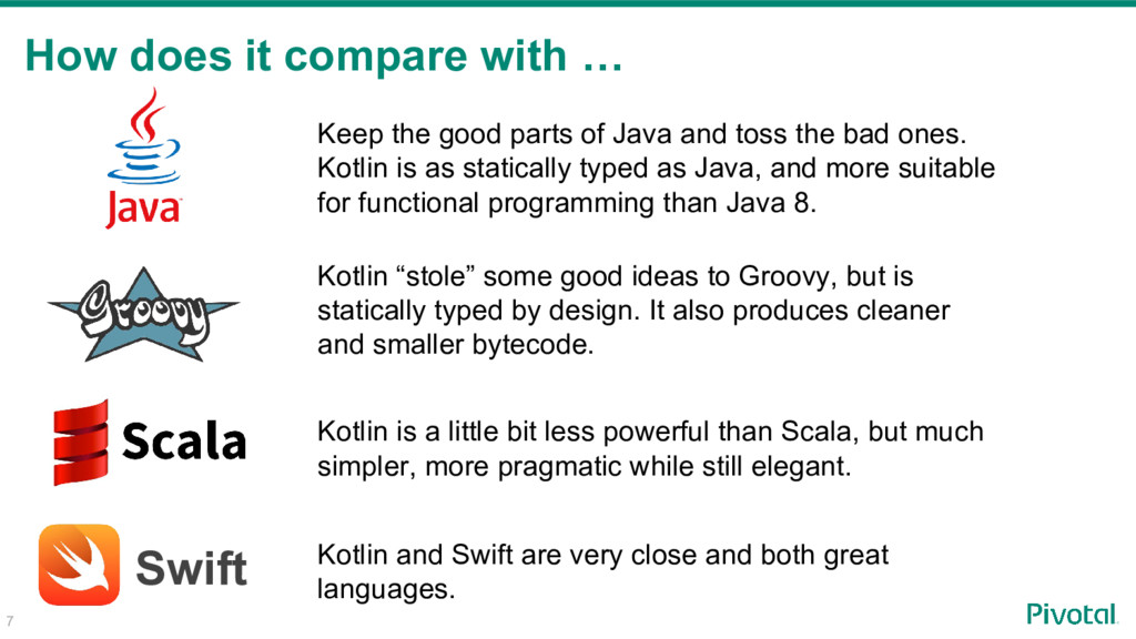 How does it compare with … Swift Keep the good ...