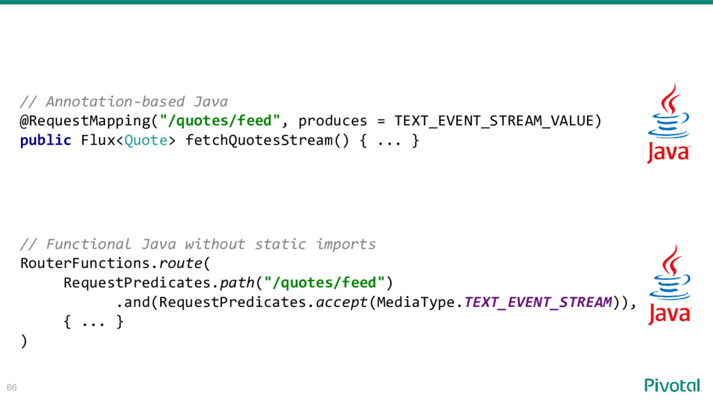 """66 // Annotation-based Java @RequestMapping(""""/q..."""