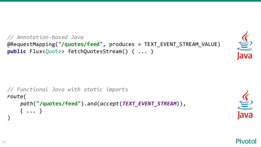 """67 // Annotation-based Java @RequestMapping(""""/q..."""