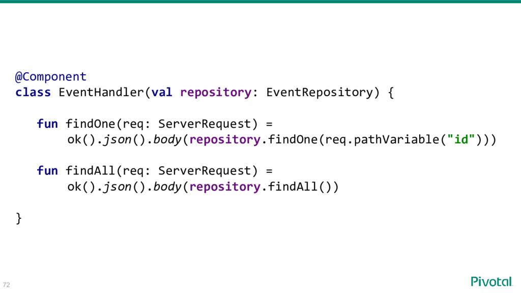 @Component class EventHandler(val repository: E...