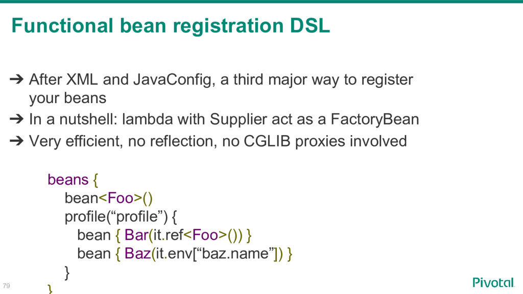 ➔ After XML and JavaConfig, a third major way t...
