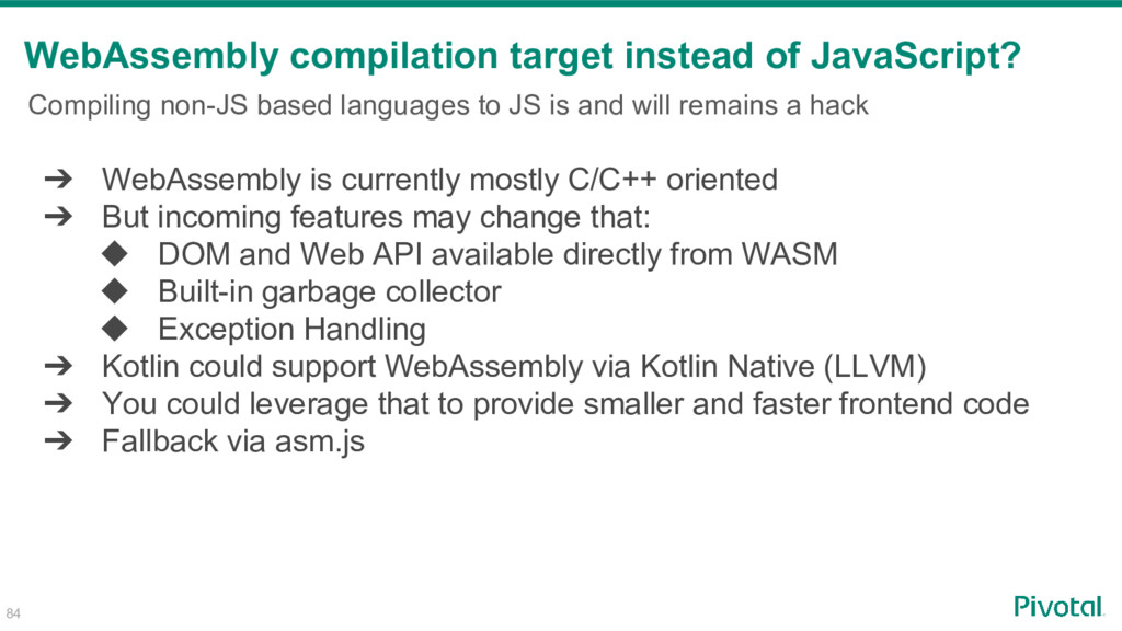 Compiling non-JS based languages to JS is and w...