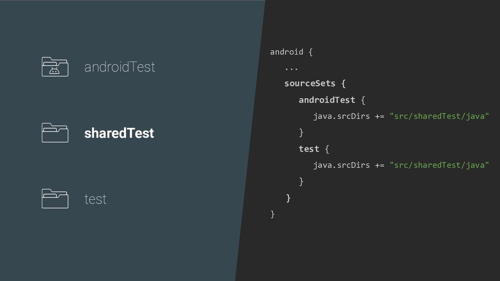 android { ... sourceSets { androidTest { java.s...