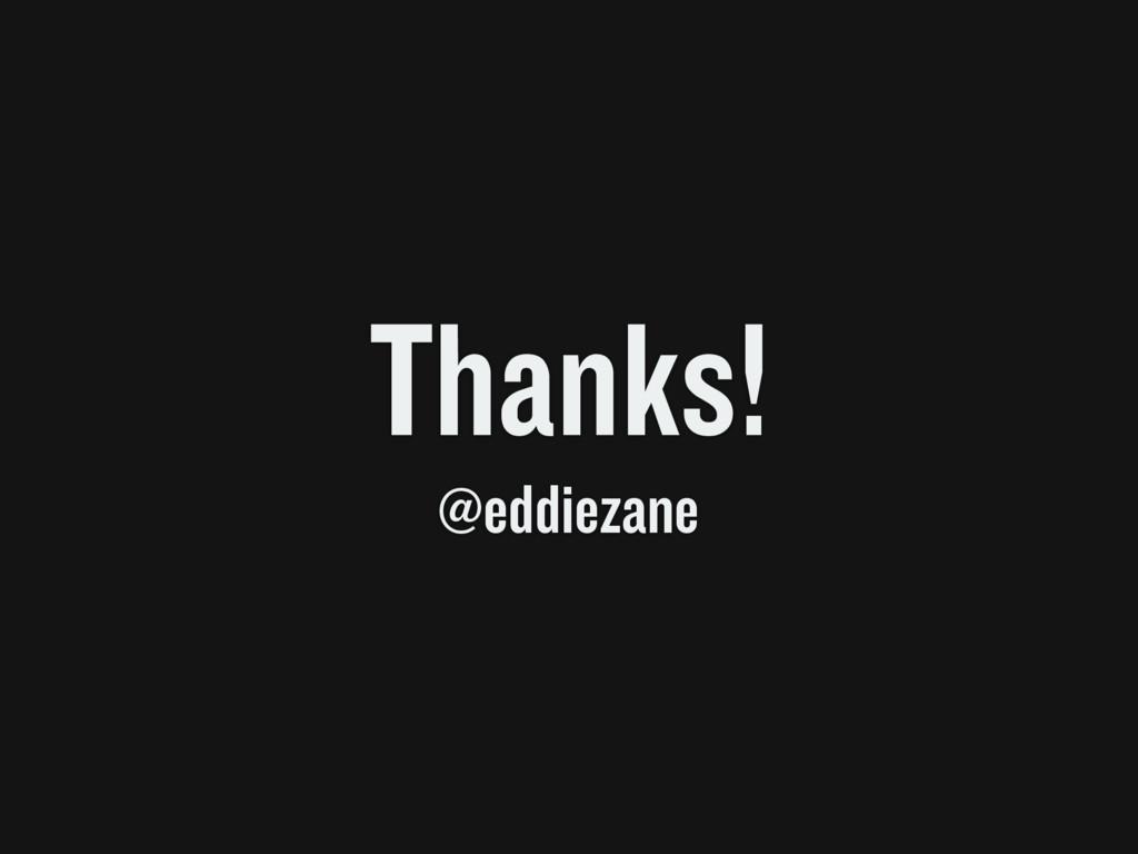 Thanks! @eddiezane