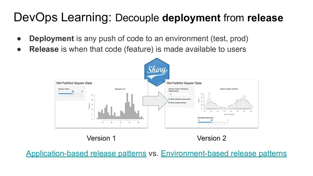● Deployment is any push of code to an environm...