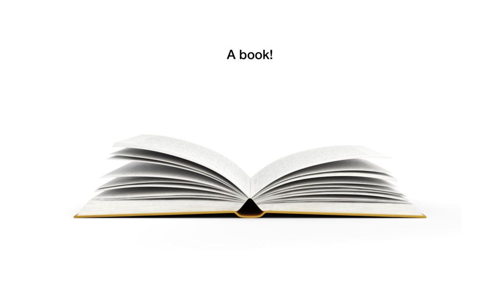 A book!