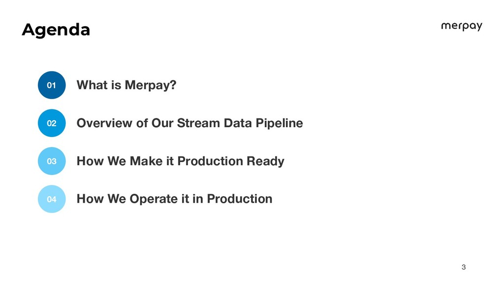 What is Merpay? 01 Overview of Our Stream Data ...
