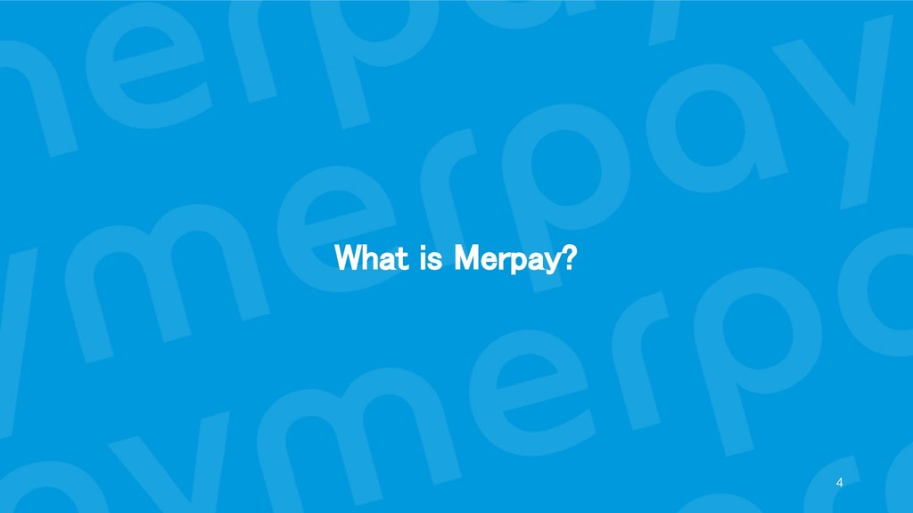 What is Merpay?