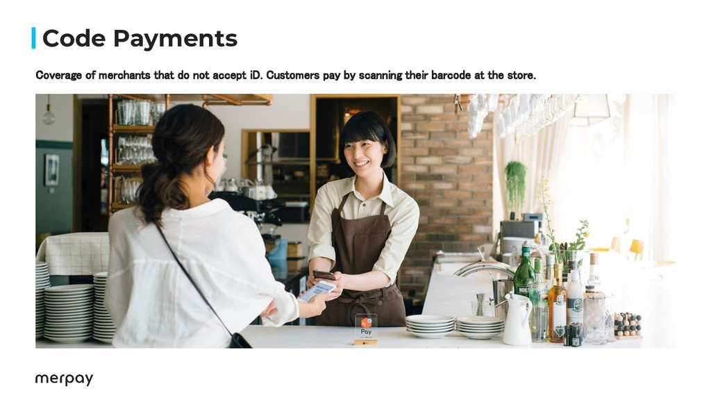 Code Payments Coverage of merchants that do not...