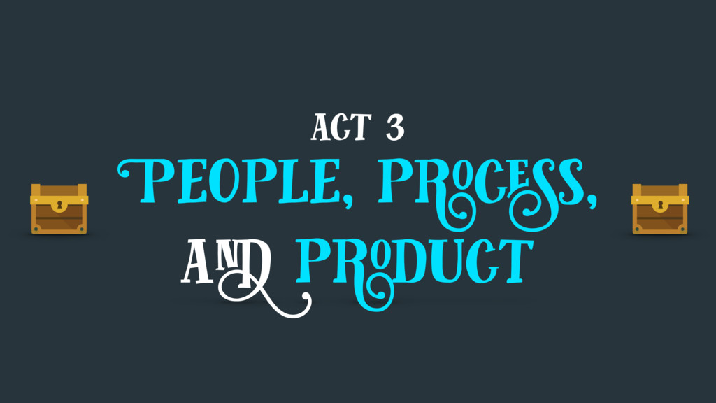 act 3 People, process, and product