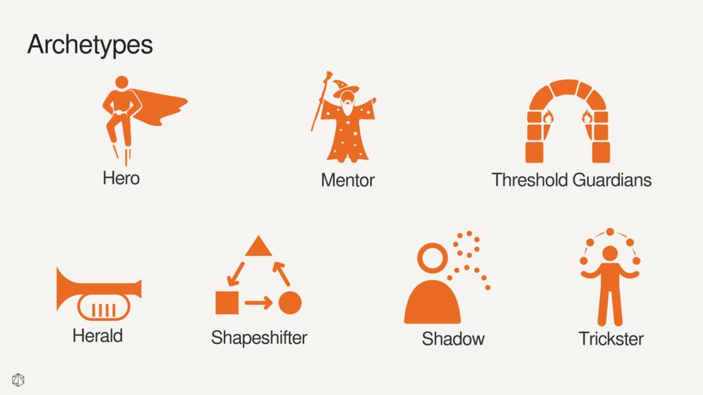 Mentor Hero Threshold Guardians Archetypes Shap...