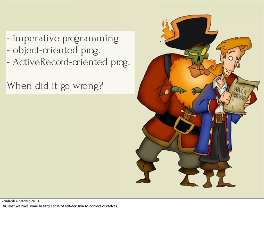 - imperative programming - object-oriented prog...