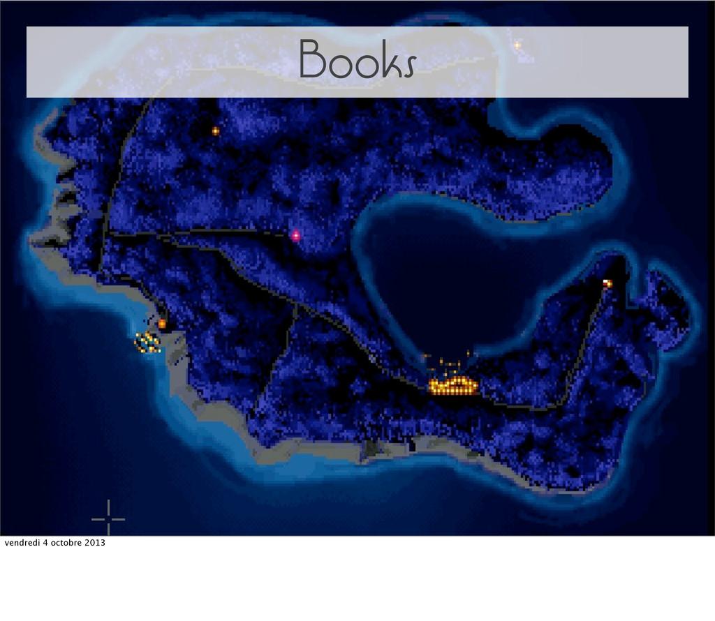 Books vendredi 4 octobre 2013