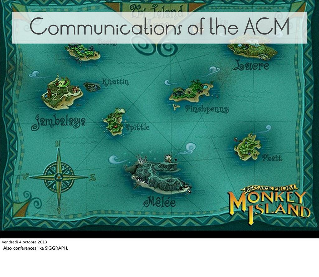 Communications of the ACM vendredi 4 octobre 20...