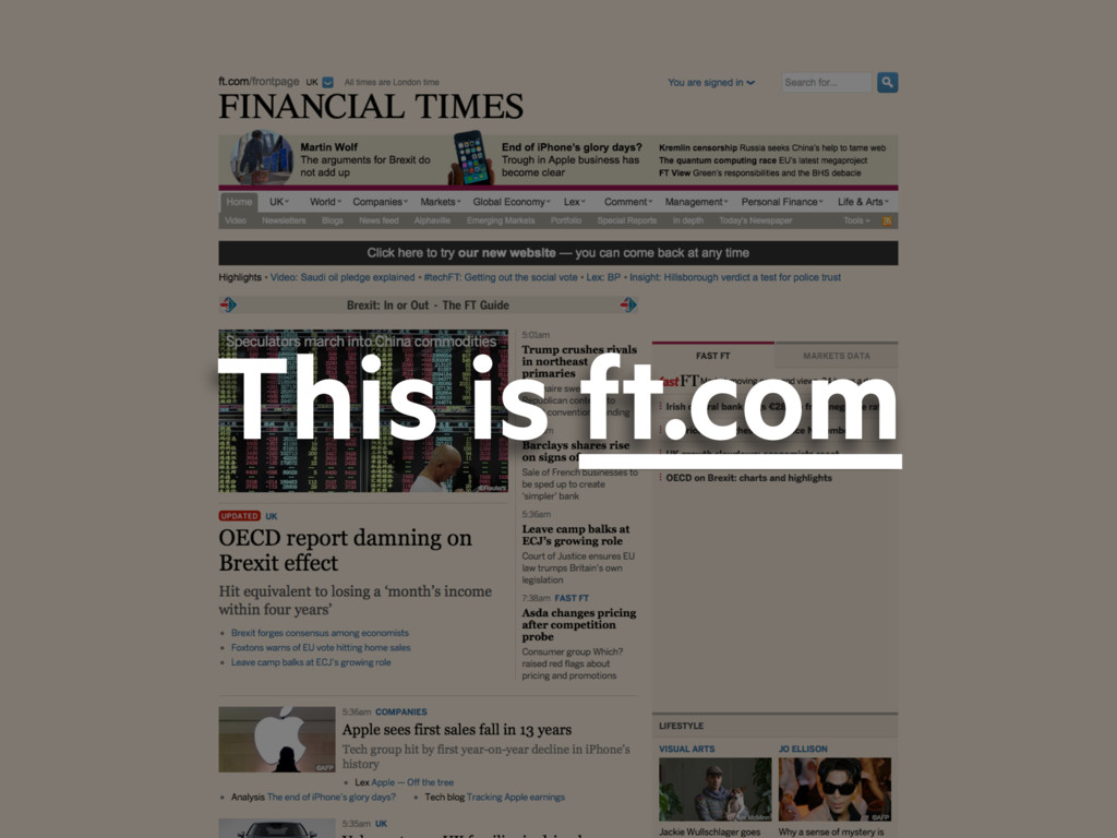 This is ft.com