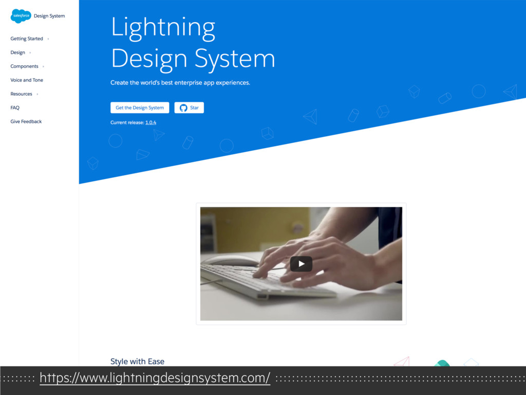 https://www.lightningdesignsystem.com/