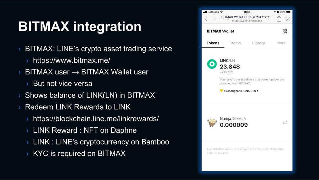 BITMAX integration › BITMAX: LINE's crypto asse...