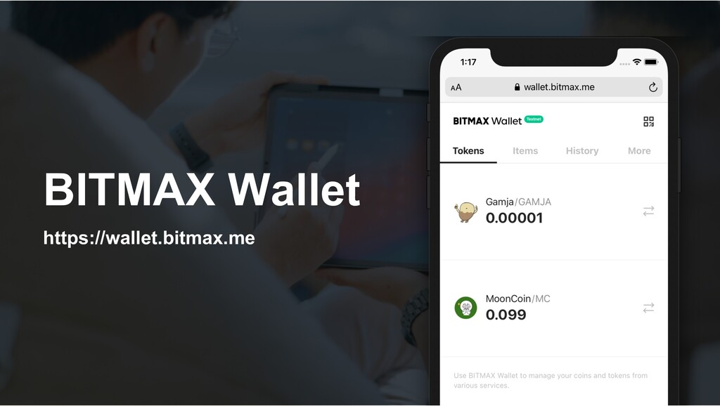 BITMAX Wallet https://wallet.bitmax.me