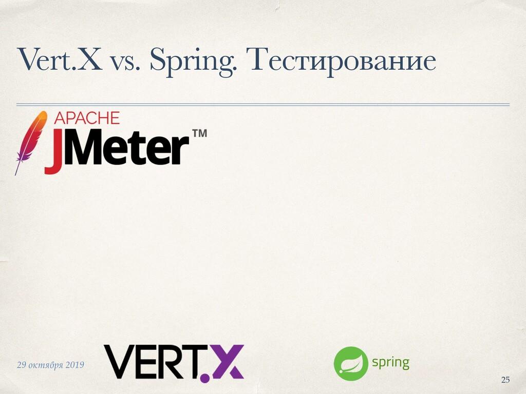 29 октября 2019 Vert.X vs. Spring. Тестирование...