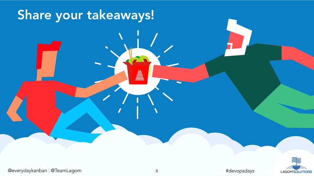 @everydaykanban   @TeamLagom !8 #devopsdays Sha...