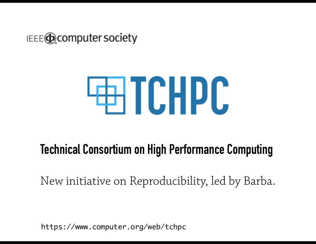 Technical Consortium on High Performance Comput...