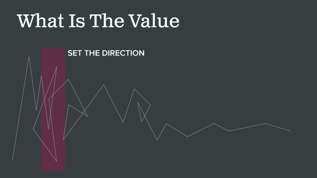 What Is The Value SET THE DIRECTION