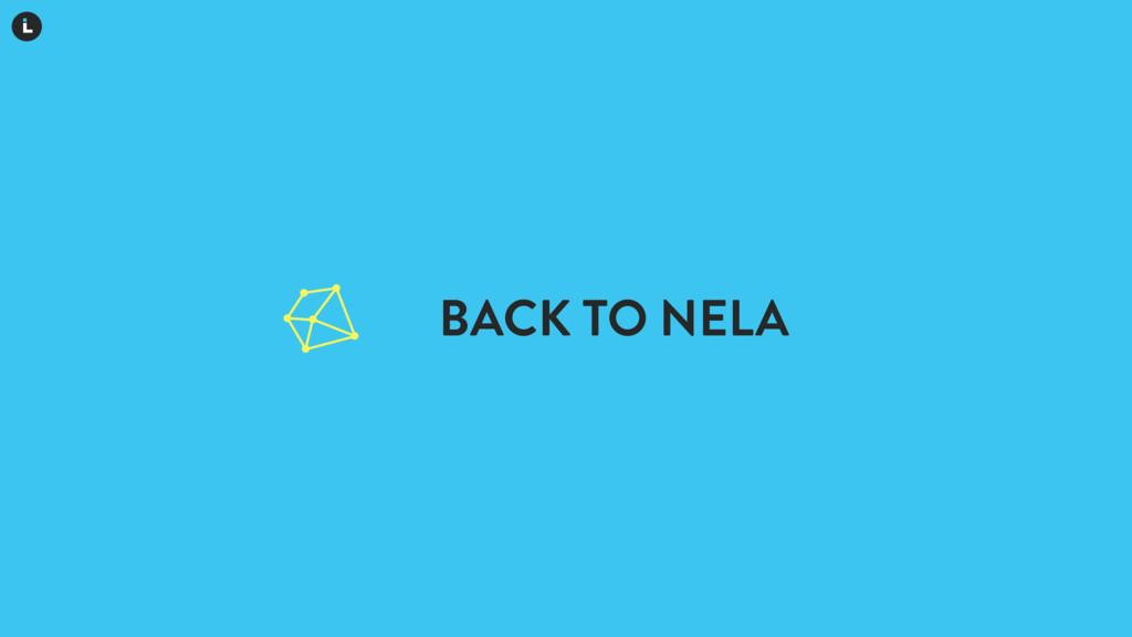 BACK TO NELA