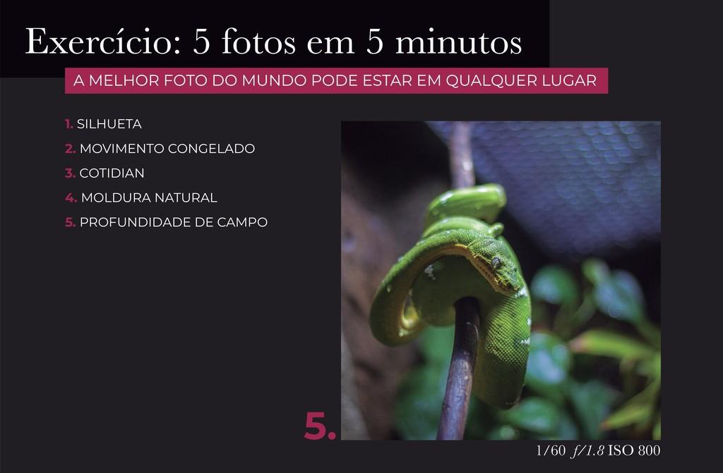 5. 1/60 f/1.8 ISO 800 1. SILHUETA 2. MOVIMENTO ...