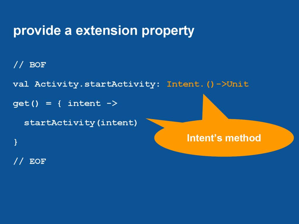 provide a extension property // BOF val Activit...