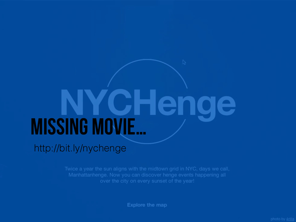 Missing movie… http://bit.ly/nychenge