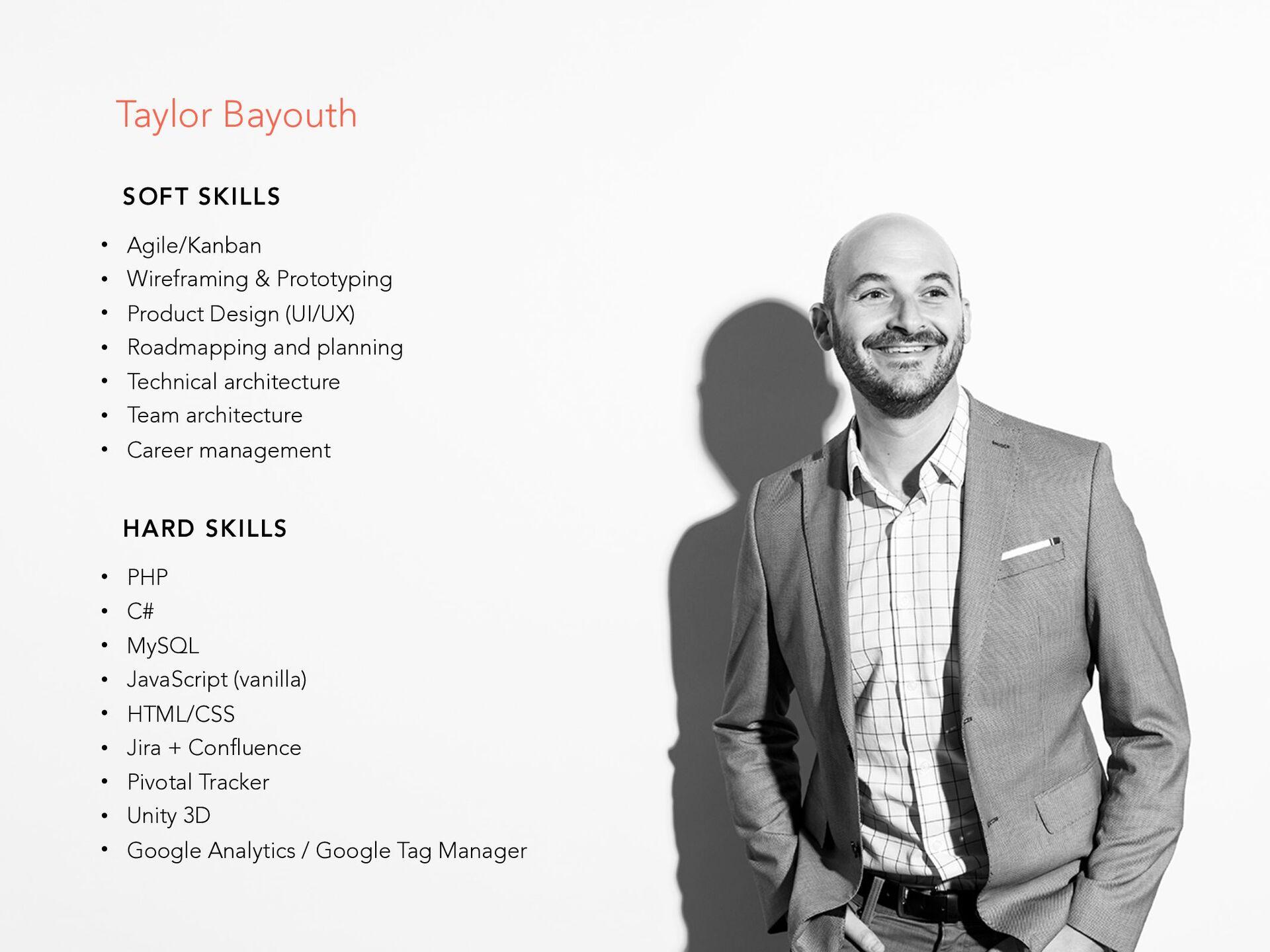 Analytics and behavioral patterns