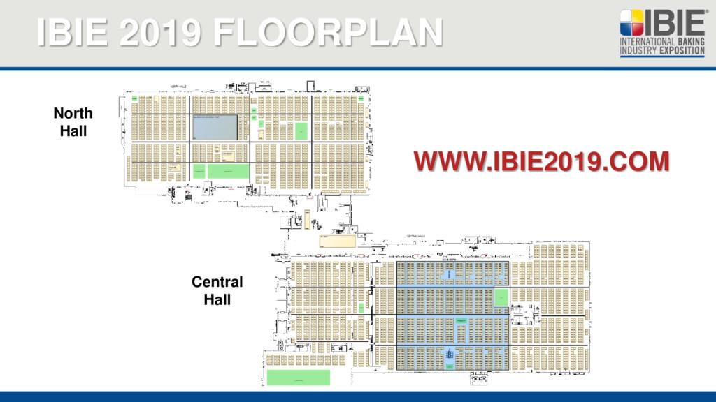 IBIE 2019 FLOORPLAN WWW.IBIE2019.COM North Hall...