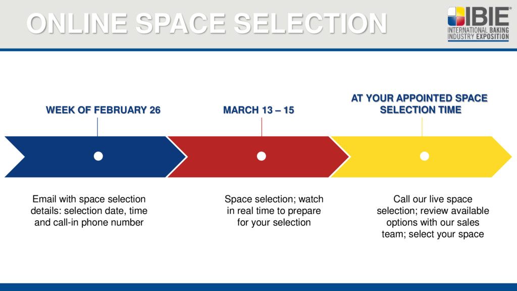 ONLINE SPACE SELECTION    WEEK OF FEBRUARY 2...