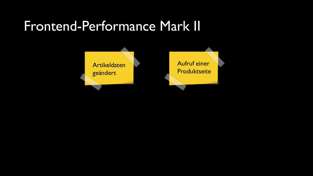Frontend-Performance Mark II Artikeldaten geänd...