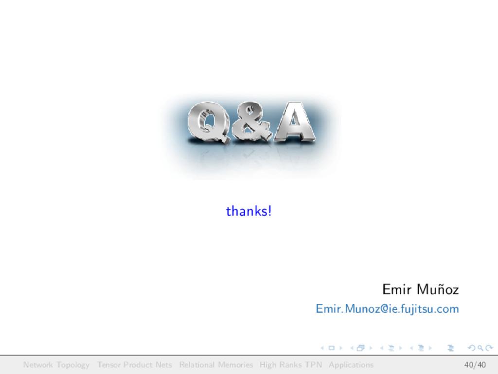thanks! Emir Mu˜ noz Emir.Munoz@ie.fujitsu.com ...