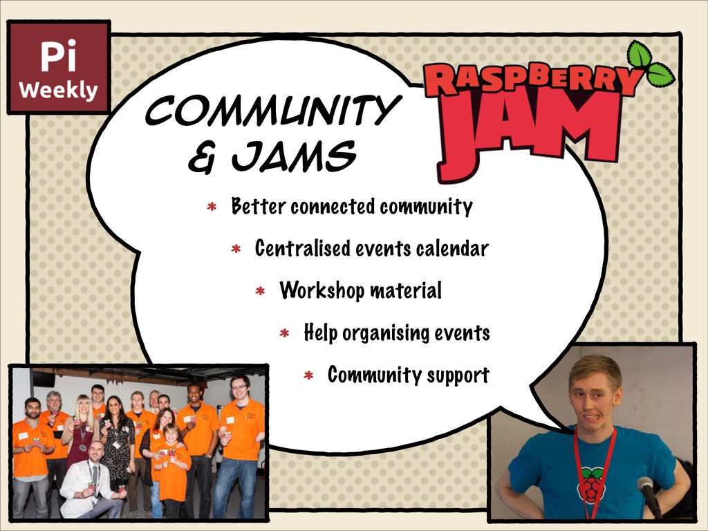 Community & Jams Better connected community Cen...