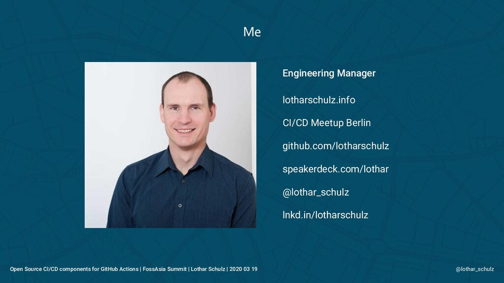 Engineering Manager lotharschulz.info CI/CD Mee...