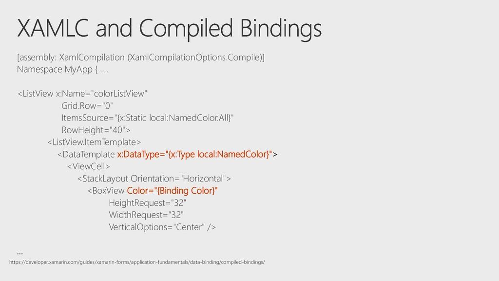 [assembly: XamlCompilation (XamlCompilationOpti...