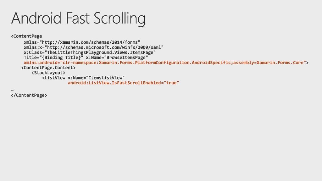 "xmlns:android=""clr-namespace:Xamarin.Forms.Plat..."