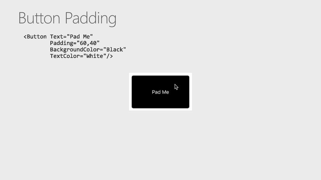 Button Padding