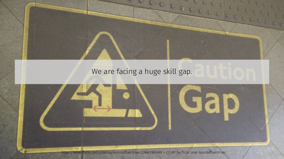 We are facing a huge skill gap. https://www.fli...