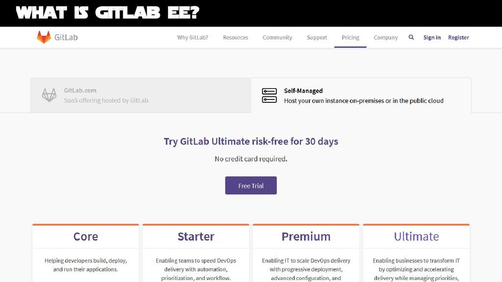 Bruno Verachten ● GitLab Enterprise Edition EE ...