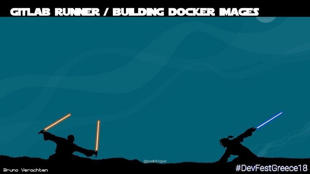 Bruno Verachten 51 Gitlab runner / building Doc...