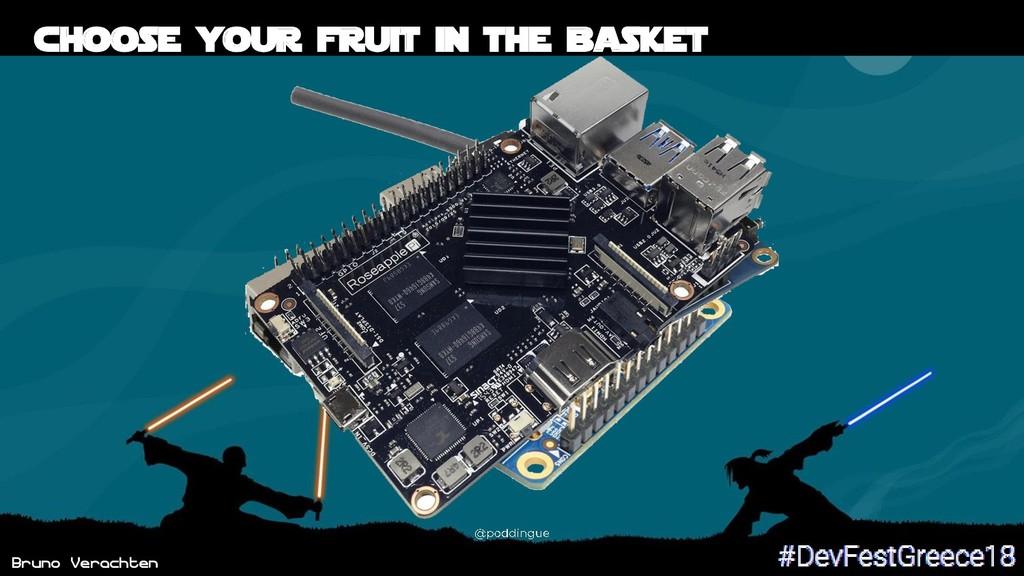 Bruno Verachten 55 Choose your fruit in the bas...