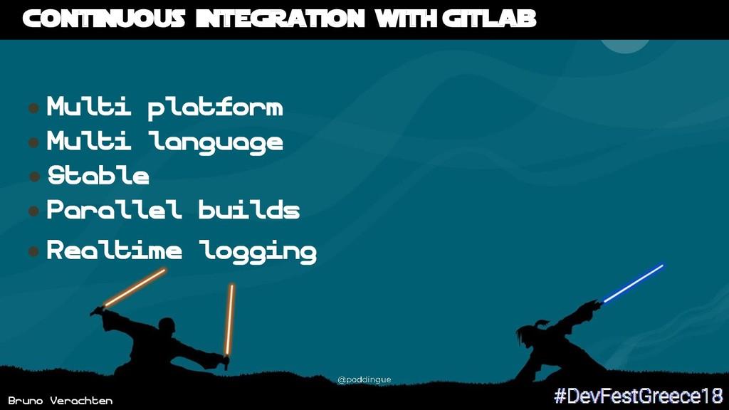 Bruno Verachten Continuous integration with Git...