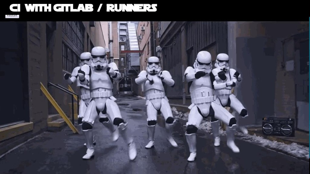 Bruno Verachten ● Ci with Gitlab / RUNNERS