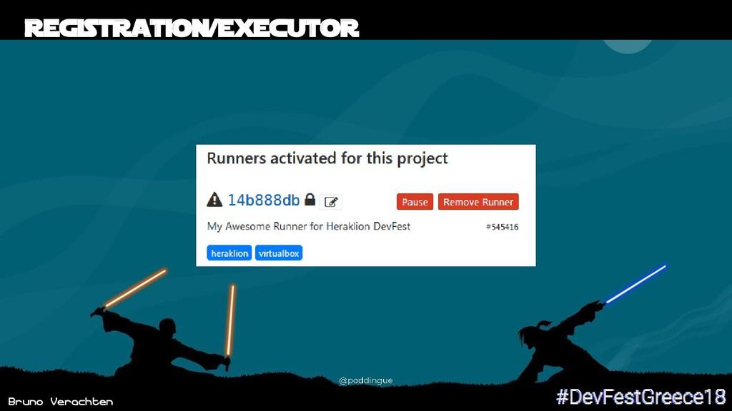 Bruno Verachten Registration/Executor