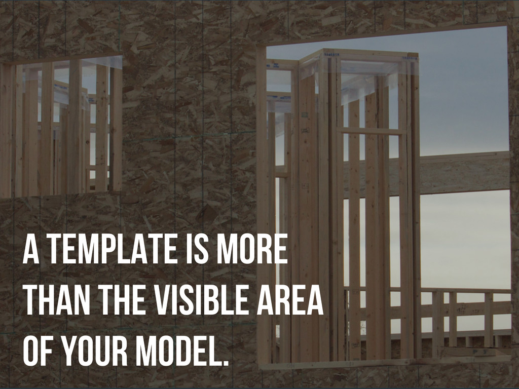 a template is more than the visible area of you...