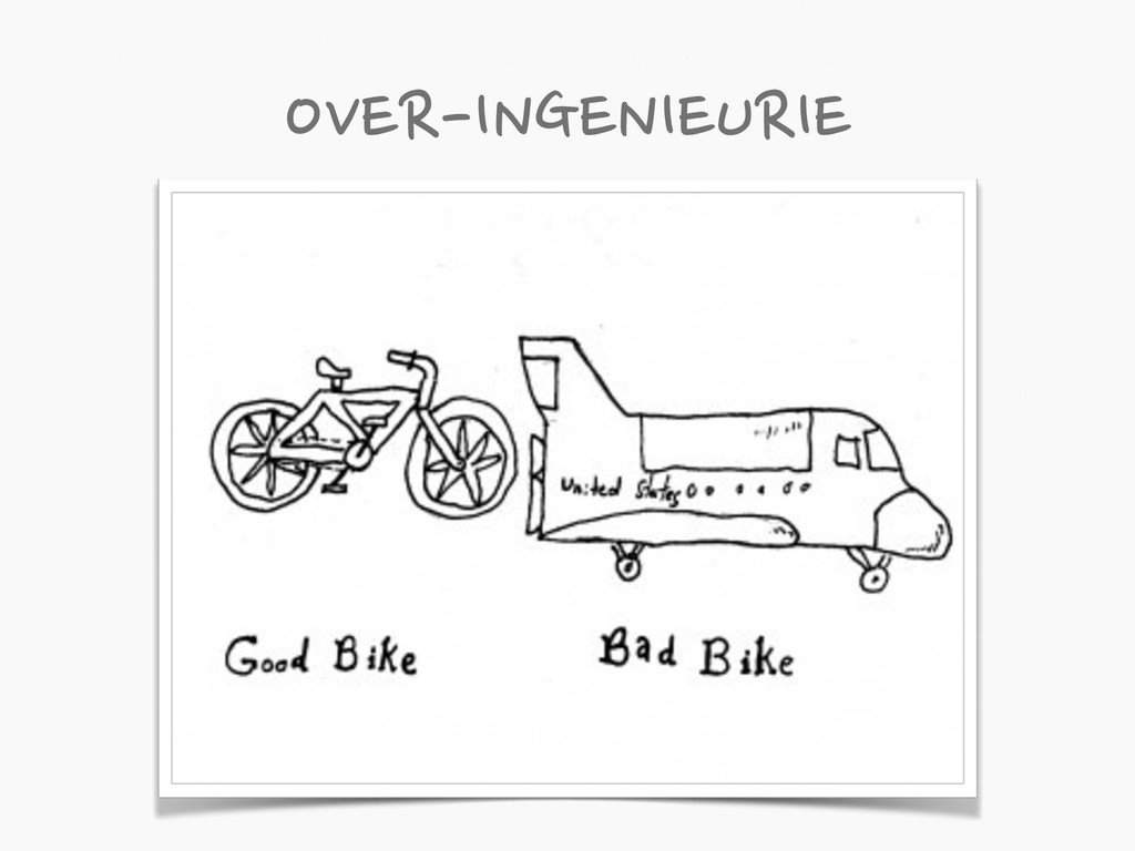 OVER-INGENIEURIE