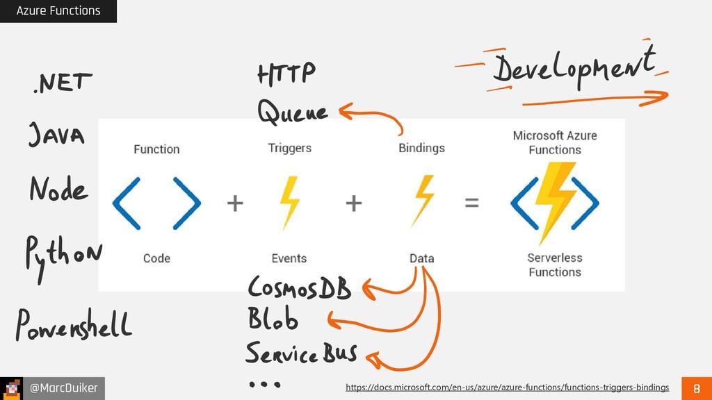 @MarcDuiker Azure Functions https://docs.micros...